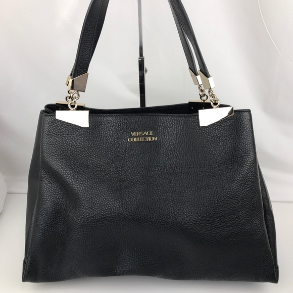 4d9791d7a07d Versace Collection Leather Tote LBFS363. M 5b341d6ae944ba5a2b5e3cbf